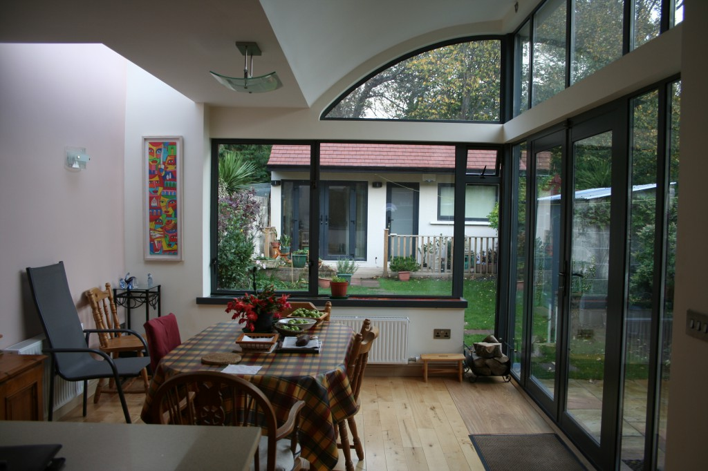 Simon hoe architects dublin house extension dun laoghaire for 3 bedroom house extension ideas